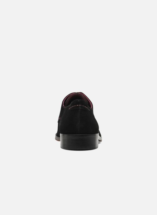 Lace-up shoes Brett & Sons Bari Black view from the right