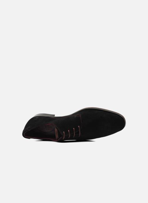 Zapatos con cordones Brett & Sons Bari Negro vista lateral izquierda