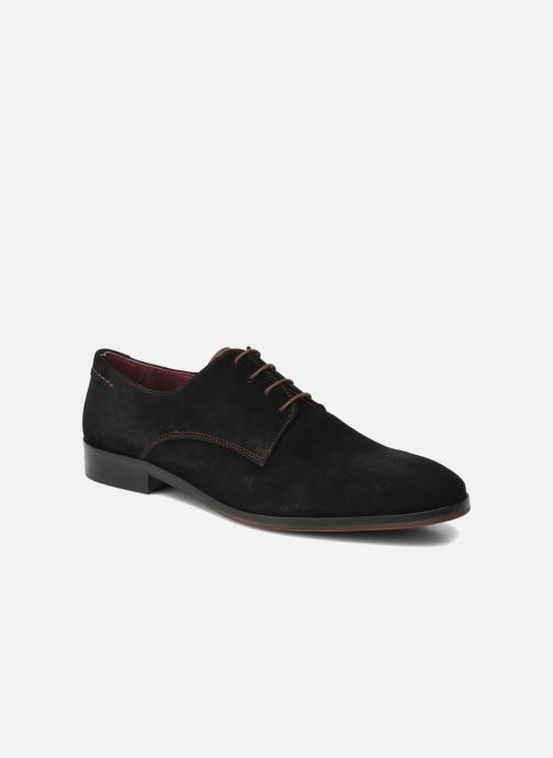 Zapatos con cordones Brett & Sons Bari Negro vista de detalle / par