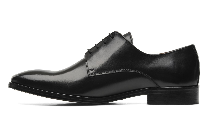 Snörade skor Brett & Sons Bari Svart bild från framsidan