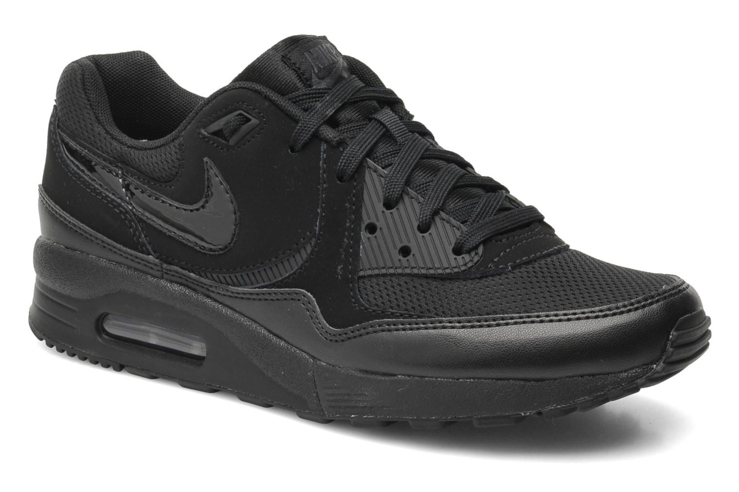 best loved a23d8 23219 ... shopping deportivas nike wmns air max light essential negro vista de  detalle par 9f124 a3b3a