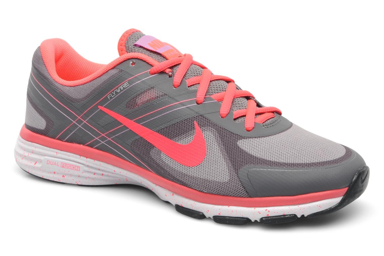 Chaussures de sport Nike Wmns Nike Dual Fusion Tr 2 Gris vue détail/paire