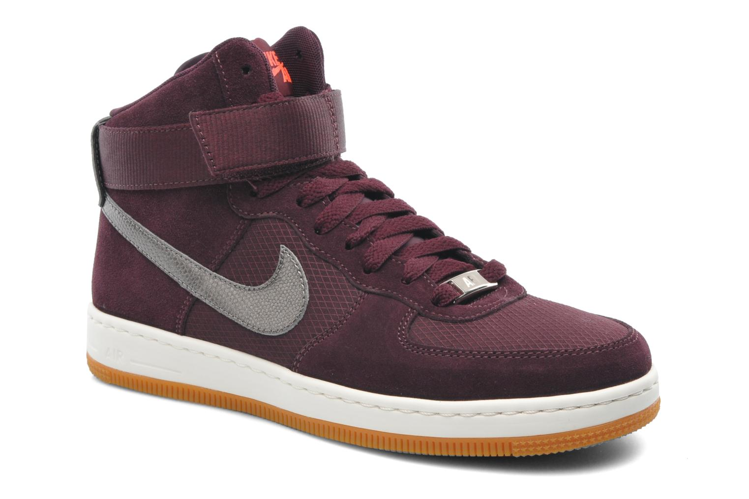promo code 29f1a ee680 ... norway baskets nike w nike air force 1 ultra force mid bordeaux vue  détail paire 85104