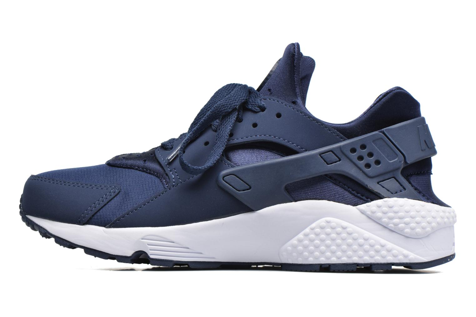 Baskets Nike Nike Air Huarache Bleu vue face