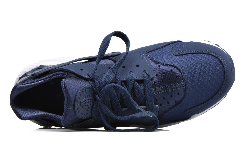 Sneaker Nike Nike Air Huarache blau ansicht von links