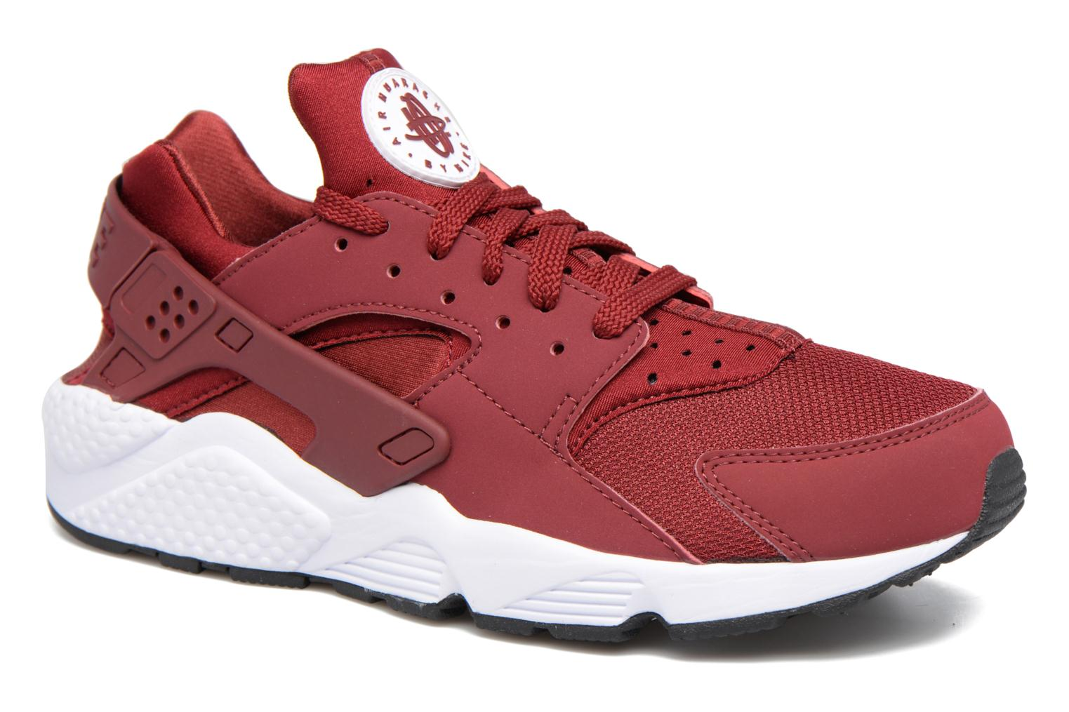 Baskets Nike Nike Air Huarache Rouge vue détail/paire