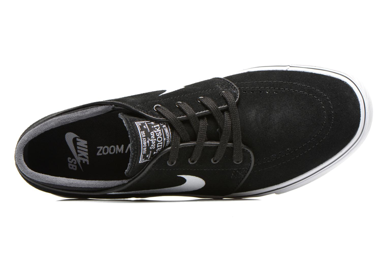 Sport shoes Nike Nike SB Zoom Stefan Janoski Black view from the left