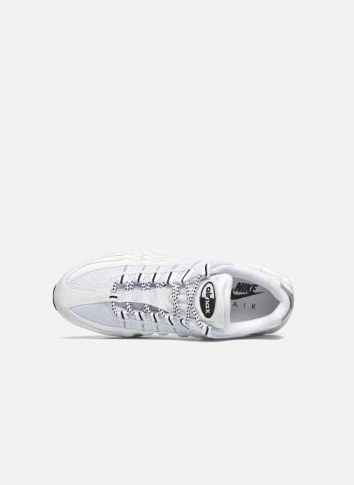 Sneaker Nike Air Max '95 weiß ansicht von links