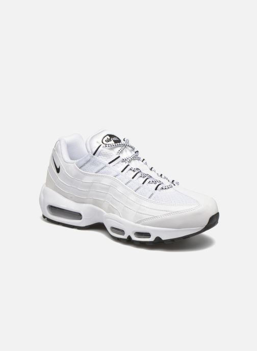 Baskets Nike Air Max '95 Blanc vue détail/paire