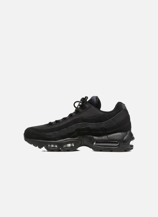 Sneaker Nike Air Max '95 schwarz ansicht von vorne
