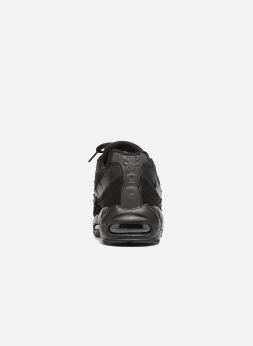Sneaker Nike Air Max '95 schwarz ansicht von rechts