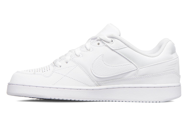 Baskets Nike Nike Priority Low Blanc vue face