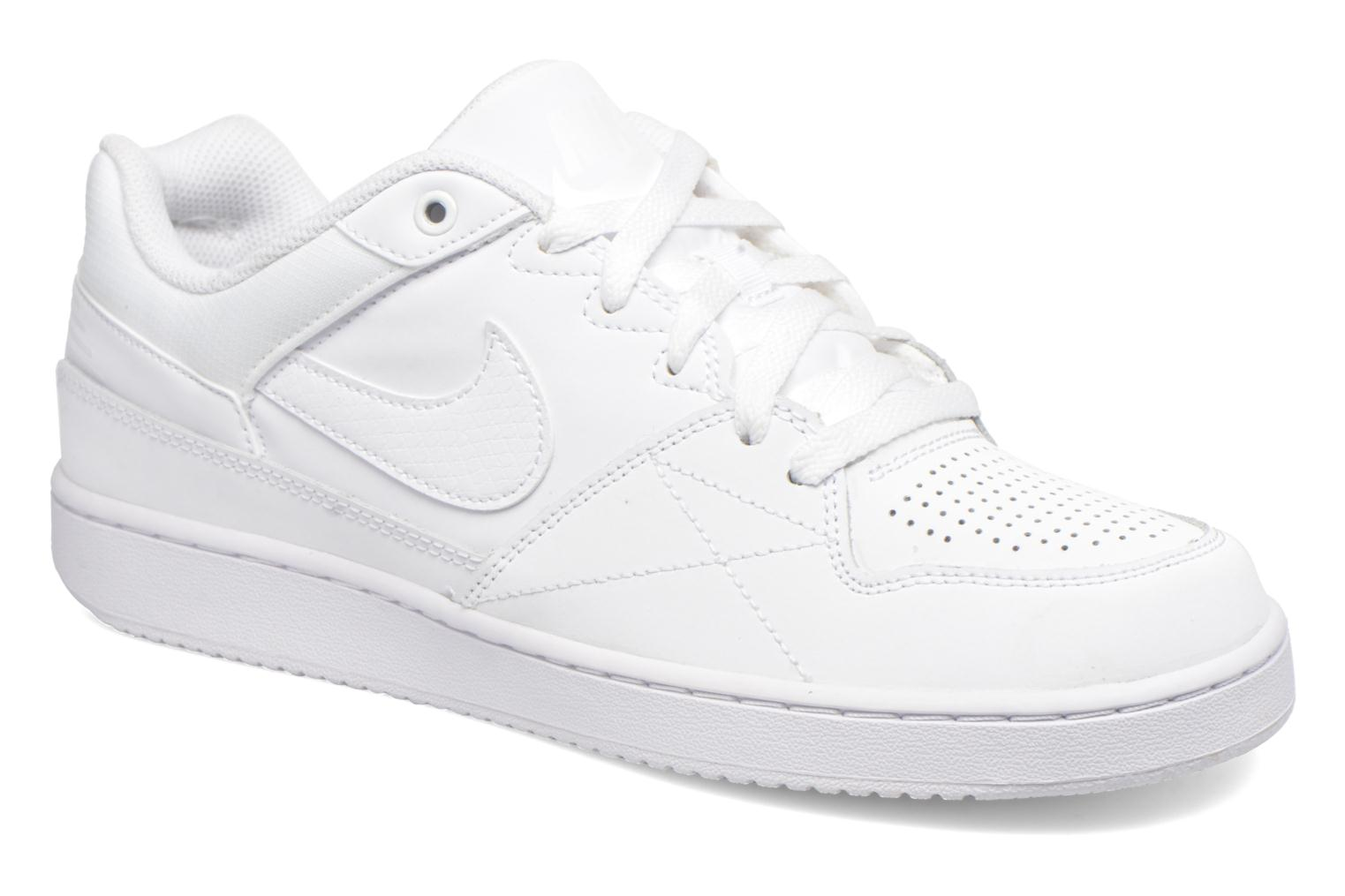 Baskets Nike Nike Priority Low Blanc vue détail/paire