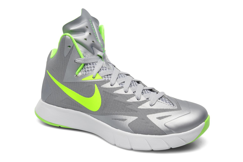 low priced 0faf2 cdef2 ... discount code for sportssko nike nike lunar hyperquickness grå  detaljeret billede af skoene 252ef 0cdb6