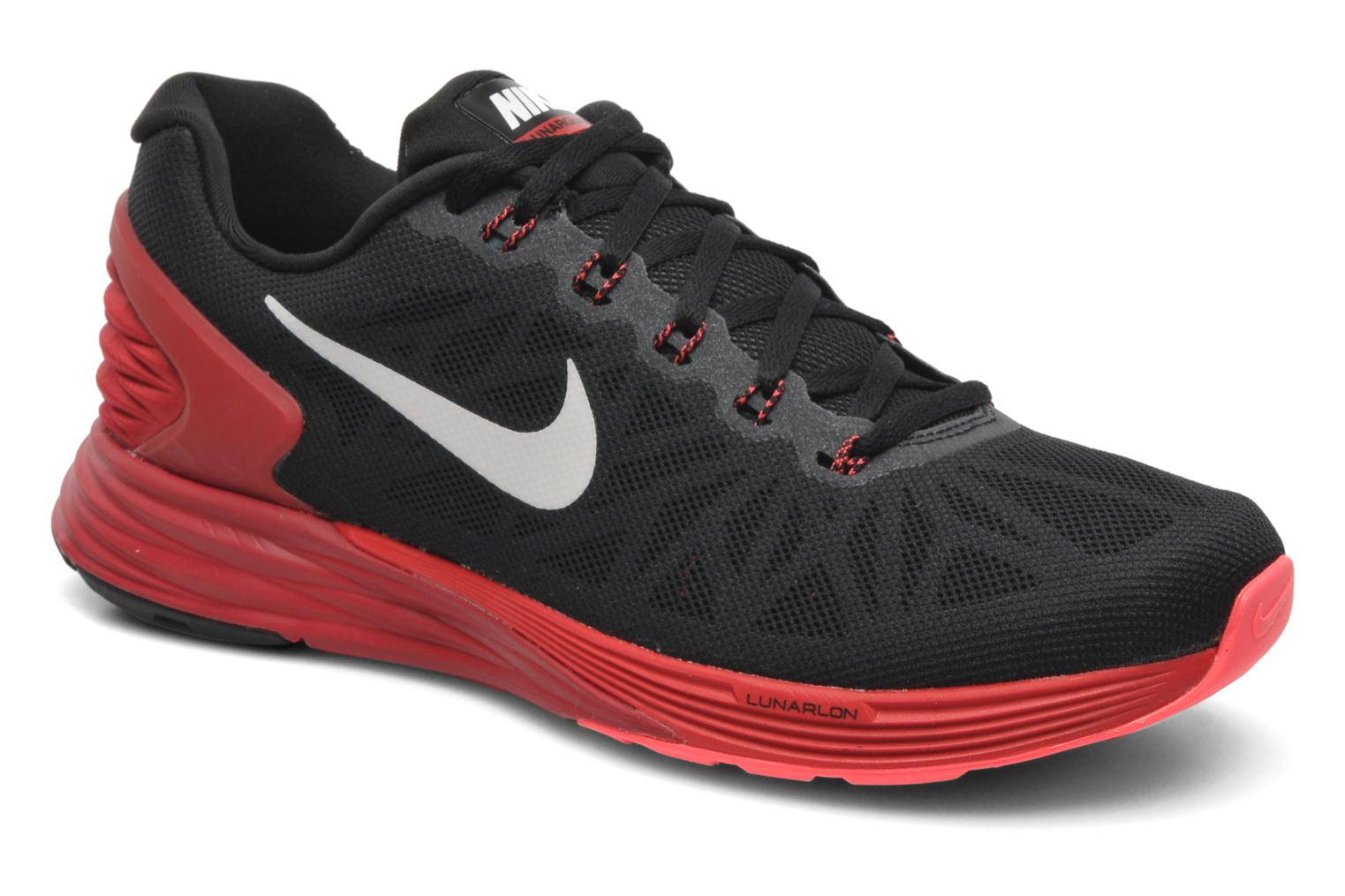 new style 4d230 52b1d france sport shoes nike nike lunarglide 6 black detailed view pair view  cb719 97c6f