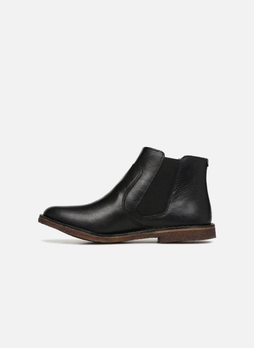 Boots en enkellaarsjes Kickers Creboots Zwart voorkant