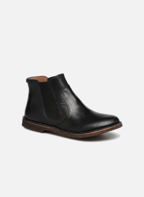 Boots en enkellaarsjes Kickers Creboots Zwart detail