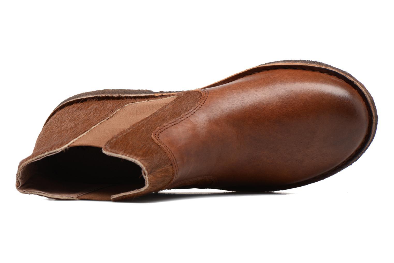 Bottines et boots Kickers Creboots Marron vue gauche