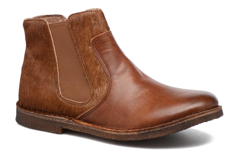 Bottines et boots Kickers Creboots Marron vue détail/paire