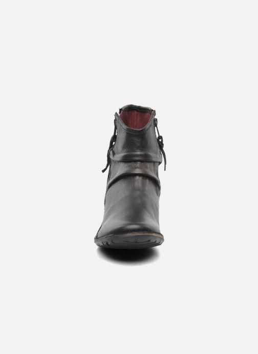 Botines  Kickers Groove Soft Negro vista del modelo
