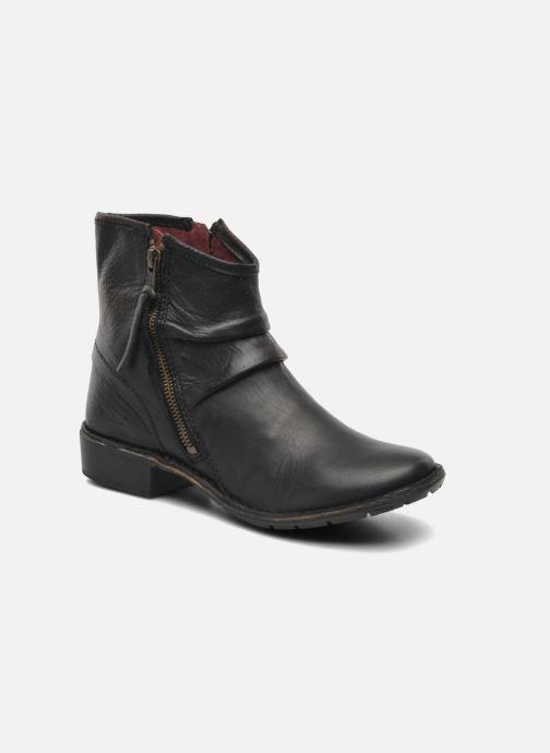 Bottines et boots Kickers Groove Soft Noir vue détail/paire