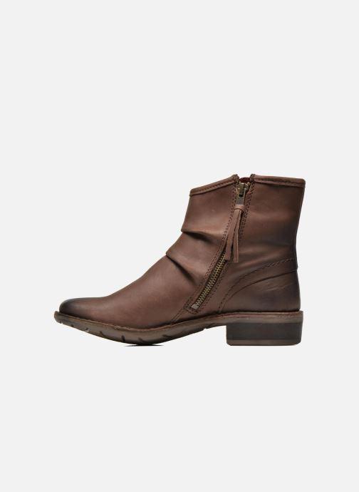 Boots en enkellaarsjes Kickers Groove Soft Bruin voorkant