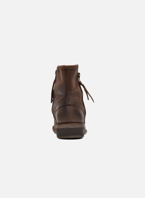 Boots en enkellaarsjes Kickers Groove Soft Bruin rechts