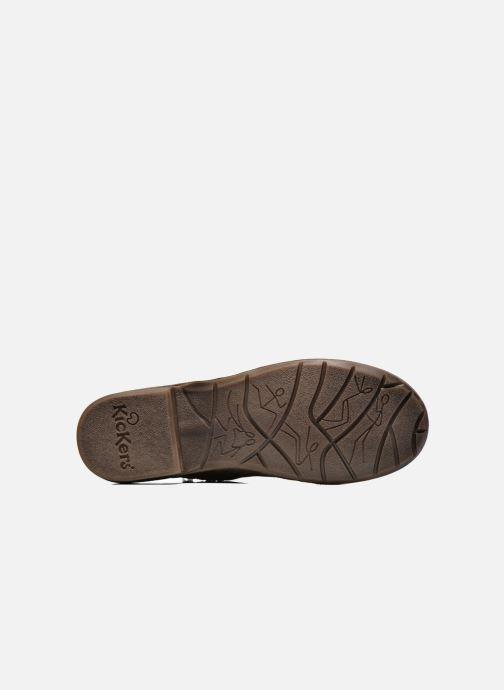 Boots en enkellaarsjes Kickers Groove Soft Bruin boven