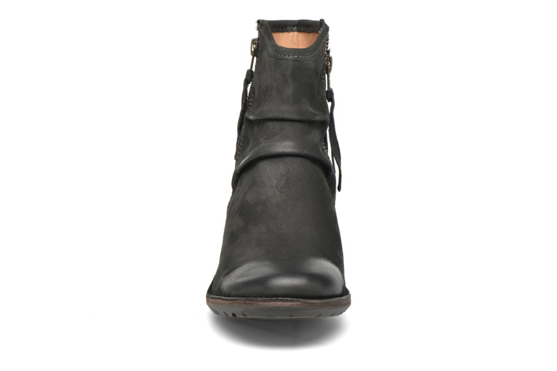 Stiefeletten & Boots Kickers Groove Soft grau schuhe getragen