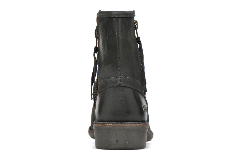 Stiefeletten & Boots Kickers Groove Soft grau ansicht von rechts