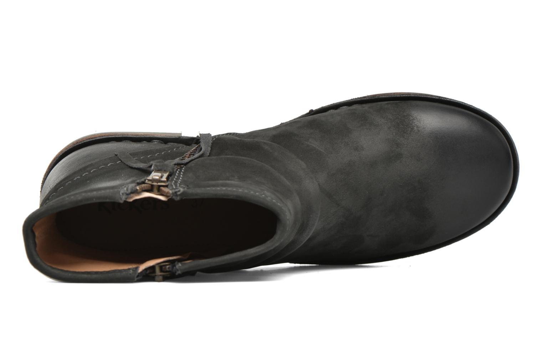 Stiefeletten & Boots Kickers Groove Soft grau ansicht von links