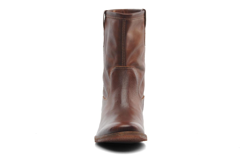 Bottines et boots Kickers Longwest Marron vue portées chaussures