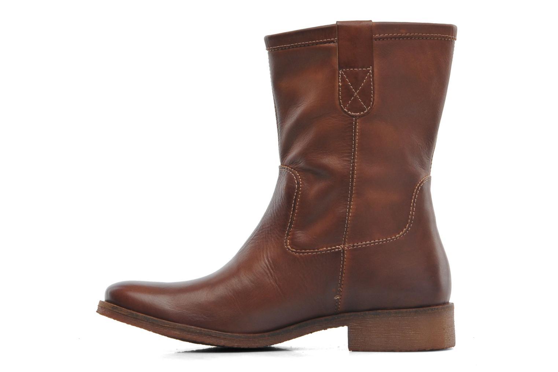 Bottines et boots Kickers Longwest Marron vue face