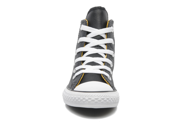 Baskets Converse Chuck Taylor All Star Sea Lea Hi Noir vue portées chaussures