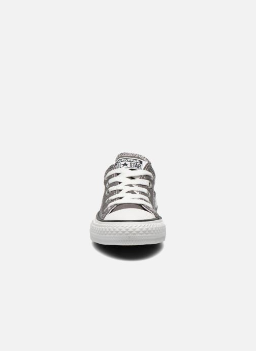 Baskets Converse Chuck Taylor All Star Season Ox Gris vue portées chaussures