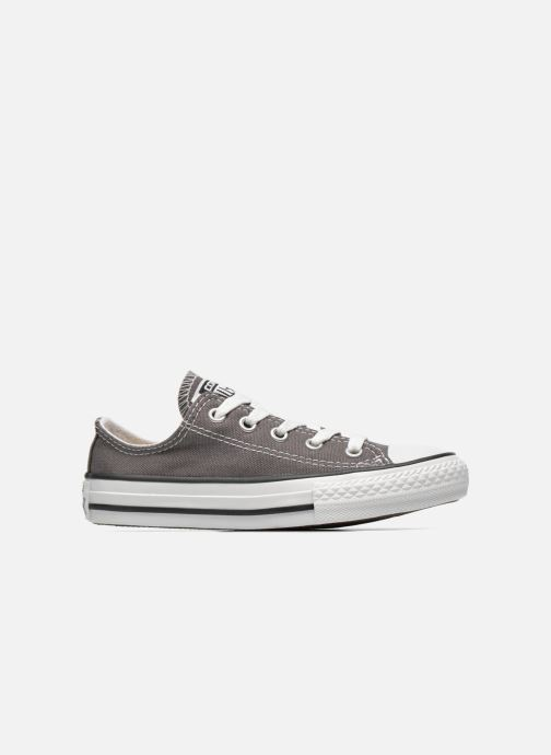Baskets Converse Chuck Taylor All Star Season Ox Gris vue derrière