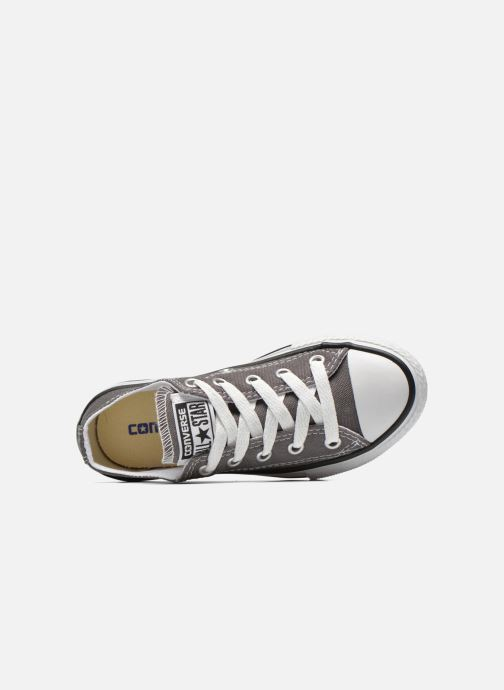 Baskets Converse Chuck Taylor All Star Season Ox Gris vue gauche
