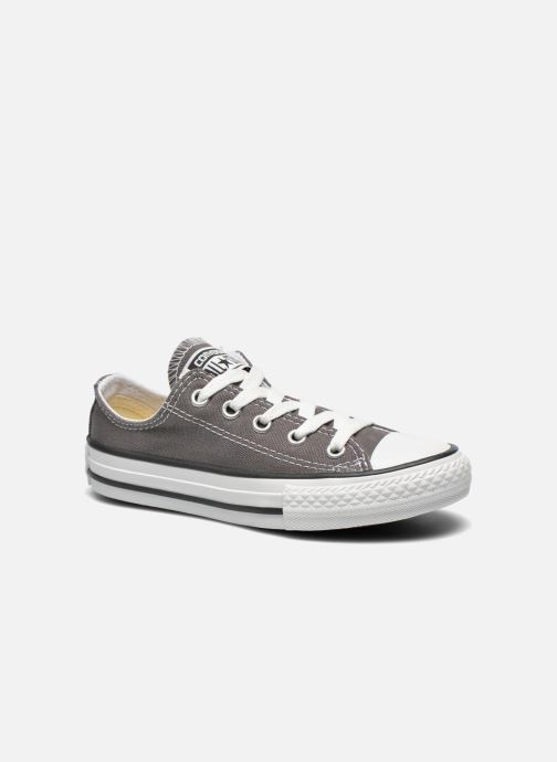 Baskets Converse Chuck Taylor All Star Season Ox Gris vue détail/paire