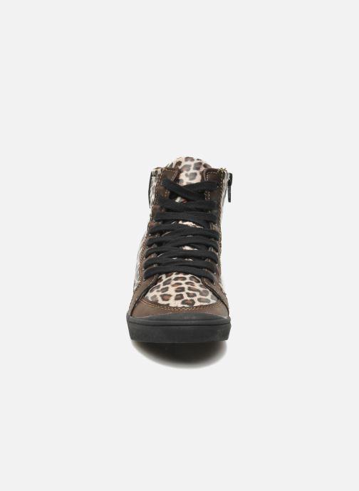 Baskets Little Marcel PRALINE J Marron vue portées chaussures