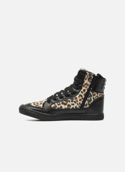 Sneaker Little Marcel PRALINE J schwarz ansicht von vorne