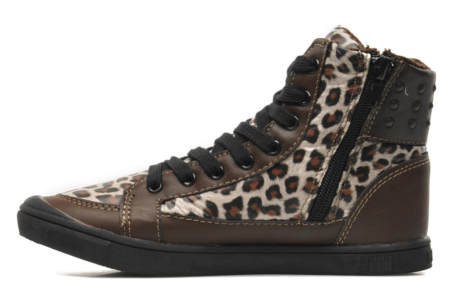 Trainers Little Marcel PRALINE J Brown front view