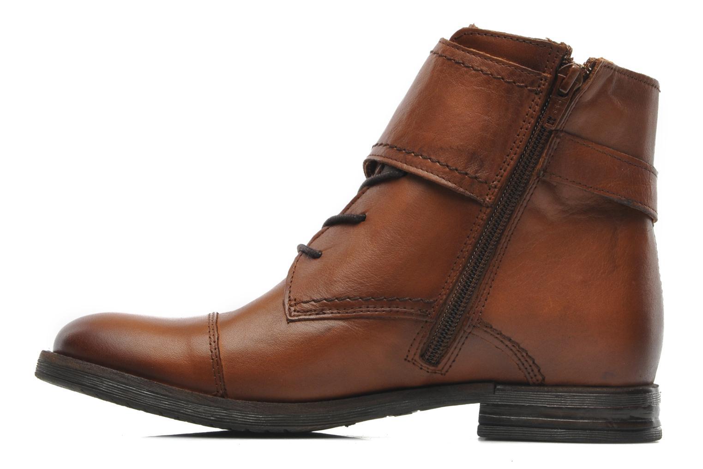 Ankelstøvler Mustang shoes Ildys Brun se forfra
