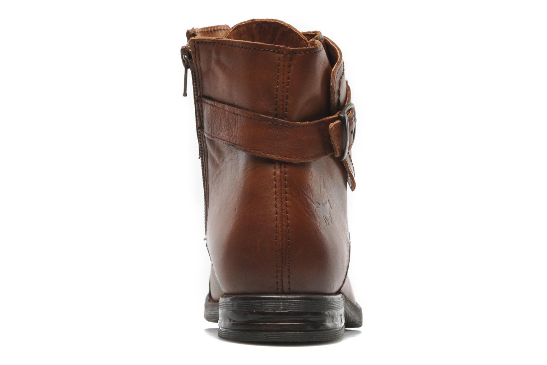 Boots Mustang shoes Ildys Brun Bild från höger sidan