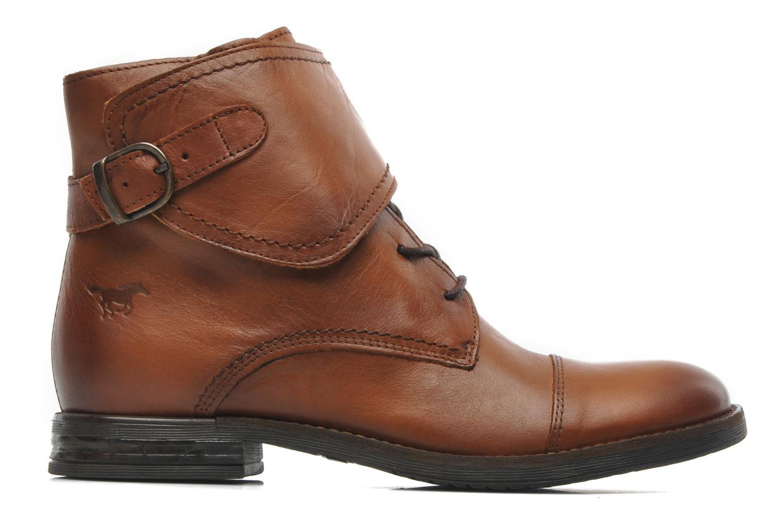 Ankelstøvler Mustang shoes Ildys Brun se bagfra