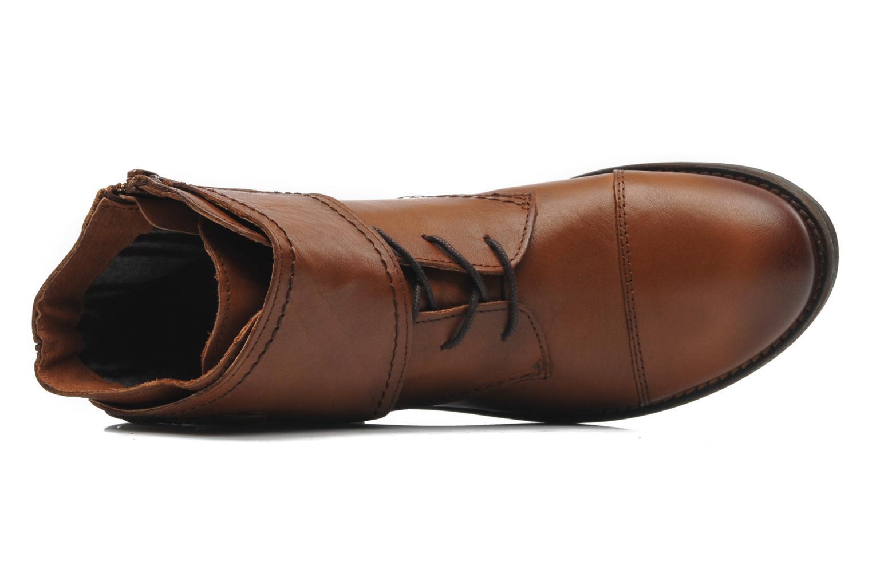 Boots Mustang shoes Ildys Brun bild från vänster sidan