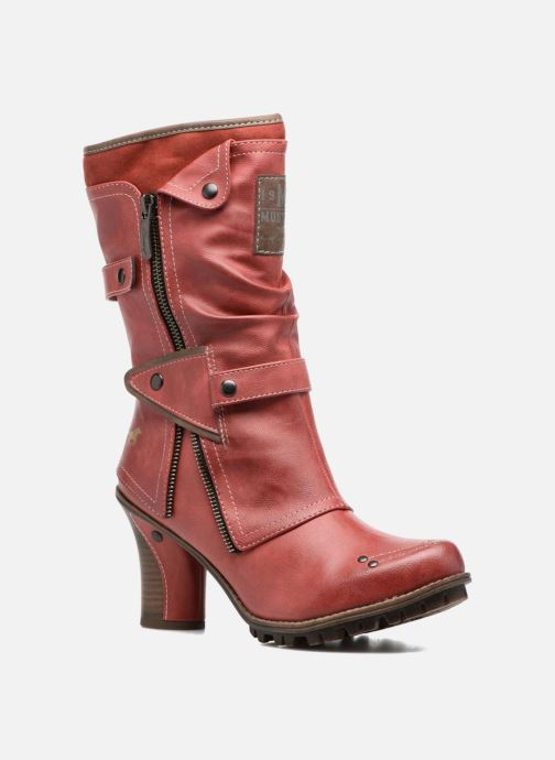 9771f219caa78 Mustang shoes Lazlo (rot) - Stiefeletten & Boots chez Sarenza (306809)
