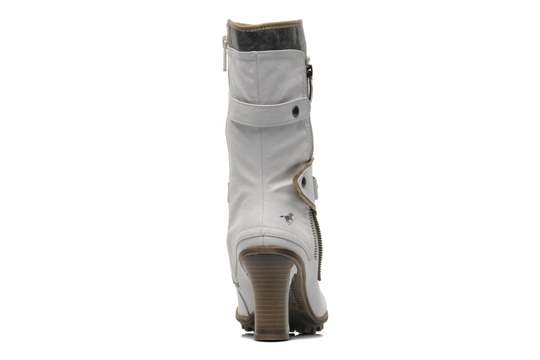 Bottines et boots Mustang shoes Lazlo Blanc vue droite