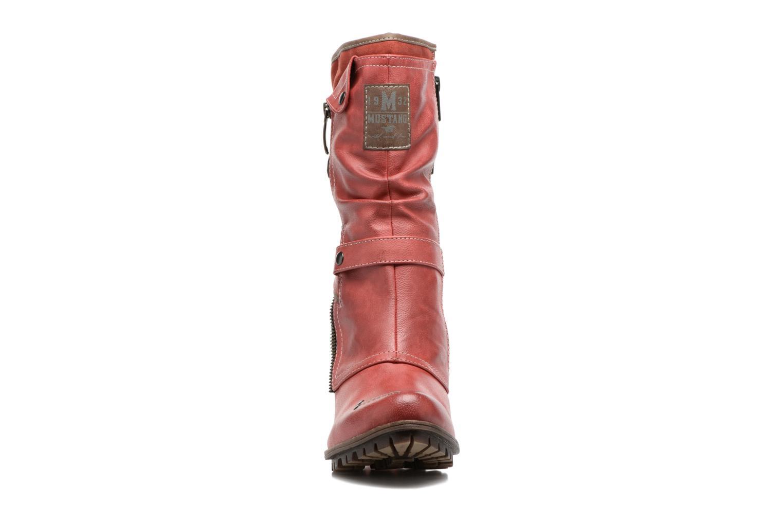 Boots Mustang shoes Lazlo Röd bild av skorna på
