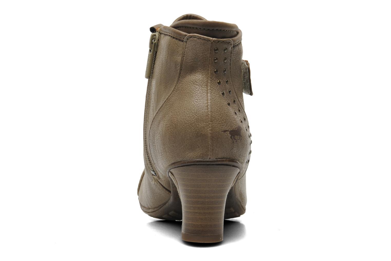Boots en enkellaarsjes Mustang shoes Ibline Beige rechts