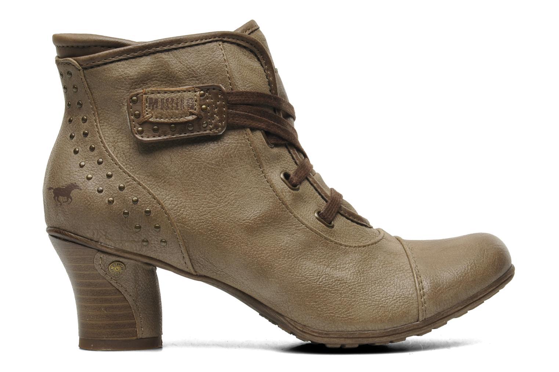 Boots en enkellaarsjes Mustang shoes Ibline Beige achterkant